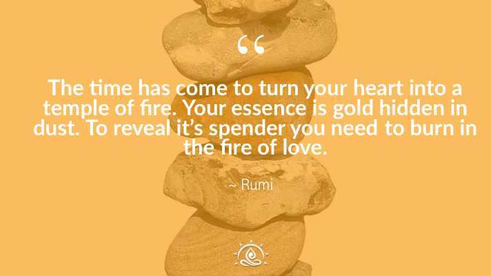 Weekly Quote ~ The time has come to turn your heart…