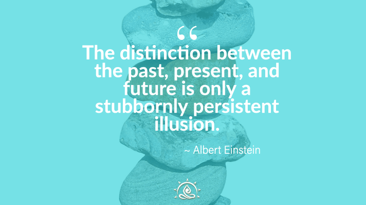 Weekly Quote ~The distinction between the past, present…