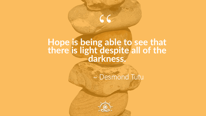 Weekly Quote ~ Hope is being able to see that there…