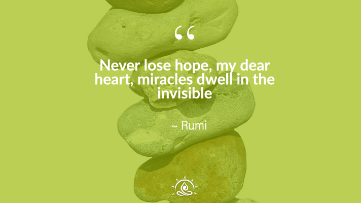 Weekly Quote ~ Never lose hope, my dear heart…