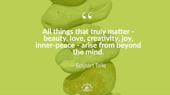 Weekly Quote ~ All things that truly matter…